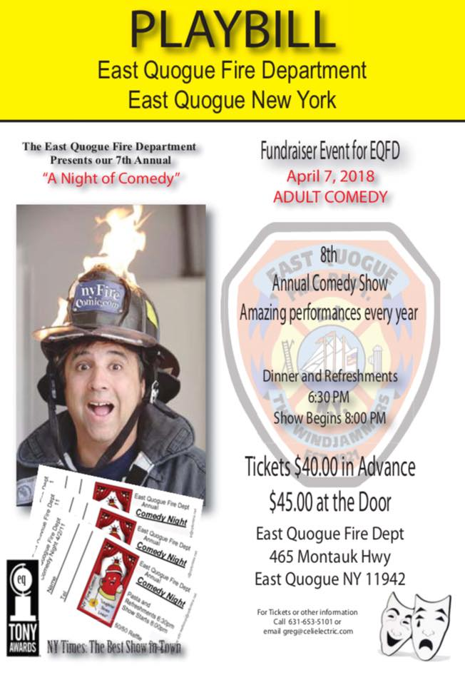 2018 Comedy Night Fundraiser Event